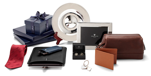 An assortment of corporate and business gifts