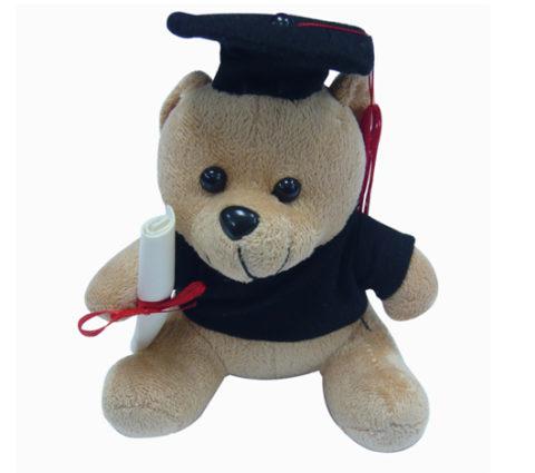 FG-172 16cm Graduation Bear