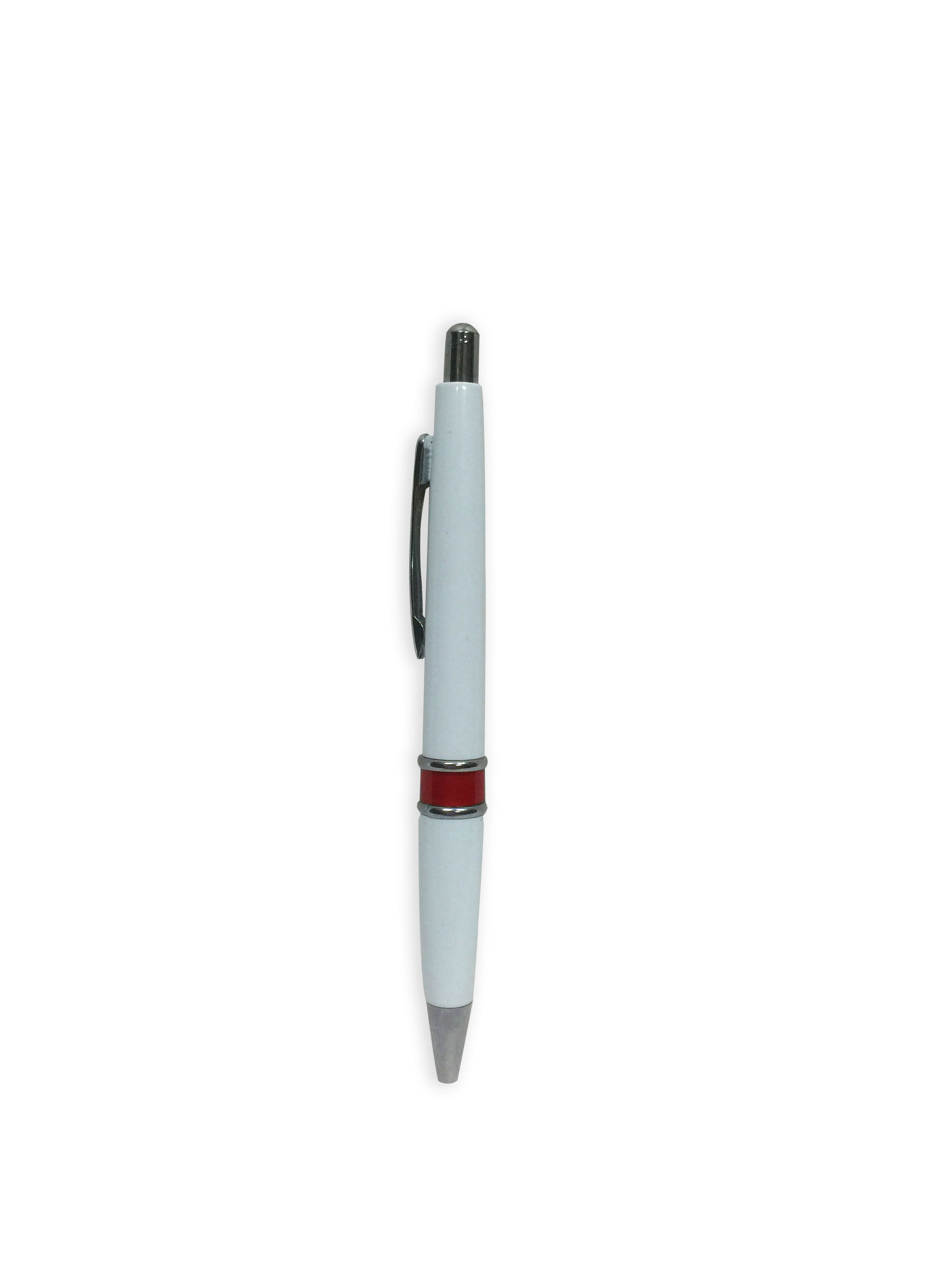 FG-20 Plastic Pen With Silver Cap