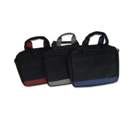 FG-208 Laptop Bag w/2 zip compartments38 x 29 x7cm