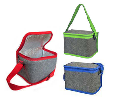 FG-266 2 Tone Felt Cooler Bag