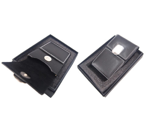 FG-274 PU Namecard Holder With Magnetic Button