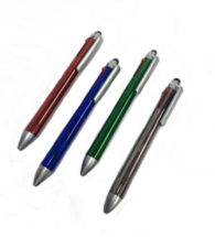 FG-325 4-in-1 Metallic Pen with Stylus