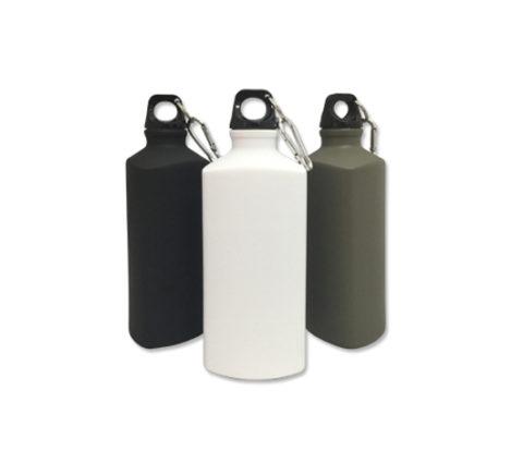 FG-367 600ml Triangular aluminium water bottle