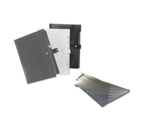 FG-374 A4 PP file with 6 compartment