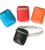 FG-819 Micro Fibre Sling Travel Pouch with 2 compartemnt