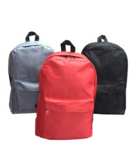 FG-821 600D Backpack with zip compartment (Size: 32 x 45 x 14.5cm)