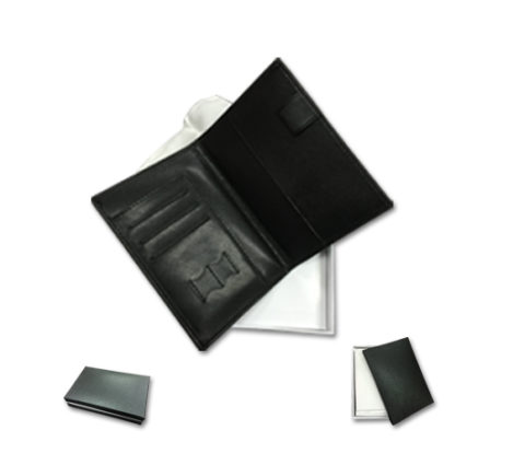 FG-829 PU Leather Passport with card and sim card slot