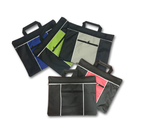 FG-833 600D Document Bag with Zip Pocket