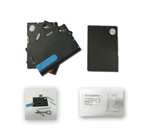 FG-839 9 IN 1 Plastic Card Tool Set