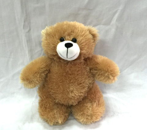 FG-844 24cm Brown Standing Bear (Small)