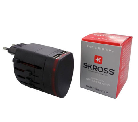 SKROSS World Adaptor EVO USB