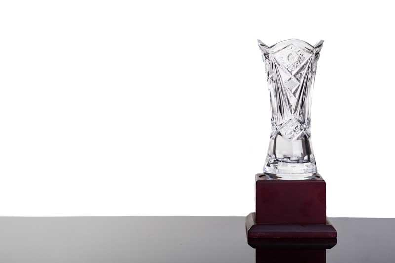 custom corporate gift trophy